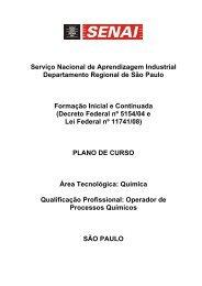 Serviço Nacional de Aprendizagem Industrial Departamento ... - Senai