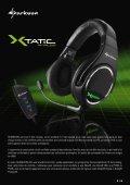 Le X-Tatic Digital certifié Dolby®. Ce kit oreillette de h - Sharkoon - Page 3