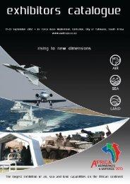 EXHIBITORS CATALOGUE PDF - Africa Aerospace & Defence 2012.