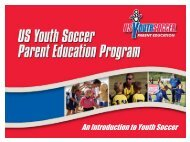 US Youth Soccer - Parent Education - Alabama Youth Soccer ...