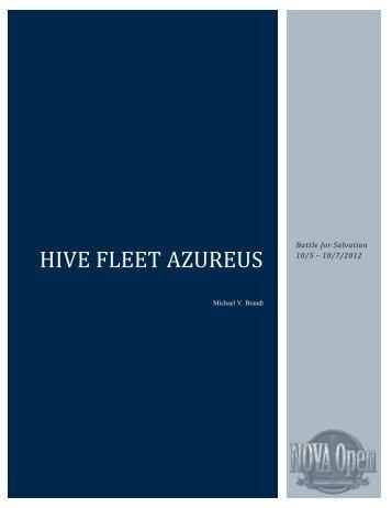 Hive Fleet Azureus - NOVA Open