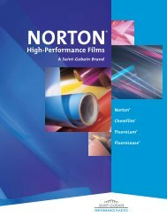 Norton® High-Performance Films Capabilities - NORTON® Films