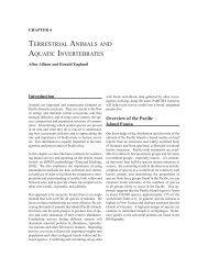 Terrestrial Animals and Aquatic Invertebrates - University of Hawaii ...