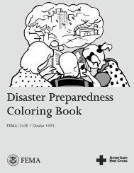 Disaster Preparedness Coloring Book