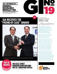 """gia receives the """"friend of case"""" award - General Insurance ..."""