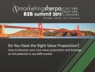 Do You Have the Right Value Proposition? - meclabs