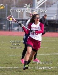 Women's Lacrosse - Rhode Island College Athletics