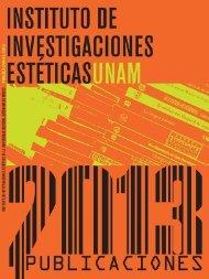 Catálogo de publicaciones 2013 - Instituto de Investigaciones ...