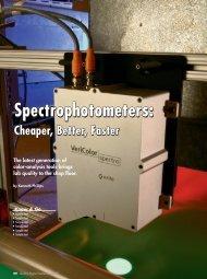Spectrophotometers: - X-Rite