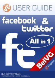 Facebook & Twitter All in One User Guide - BelVG Magento ...