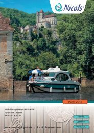 Prices & Booking 2014 (PDF, 1.2 Mo) - Nicols Canal boat