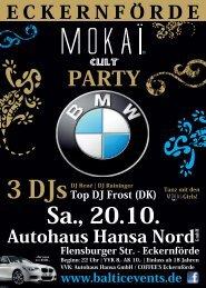 Flyer Mokai-Party - afterwork plus