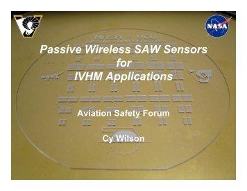 Passive Wireless SAW Sensors - Morgan State University