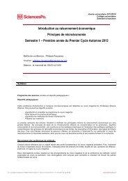 ROUSSEAU, Philippe - Sciences Po
