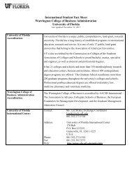 International Student Fact Sheet - International Relations