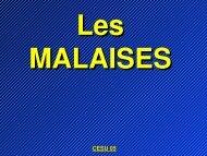 Malaise - Association Nationale des Médecins du Secours en ...