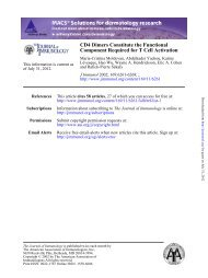 Component Required for T Cell Activation CD4 Dimers Constitute ...