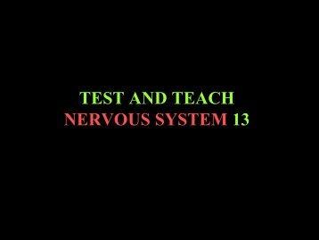 test and teach 13 - RCPA