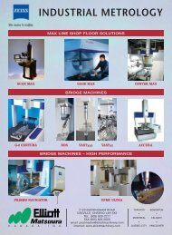 INDUSTRIAL METROLOGY - Elliott Machinery