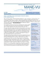 Fall 2006 Newsletter - MARAMA