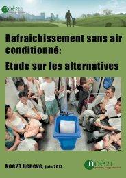 Rafraîchissement sans air conditionné - Noé21