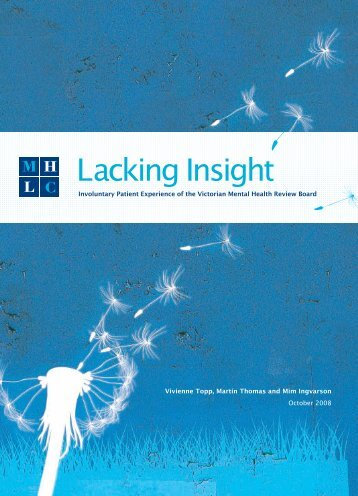 Lacking Insight - Community Law