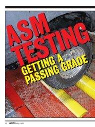 ASM TESTING - MOTOR Information Systems