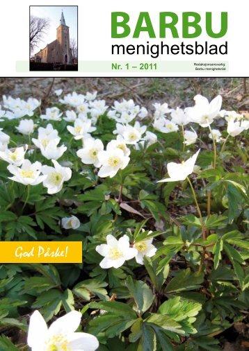 menighetsblad - Arendal - Den norske kirke