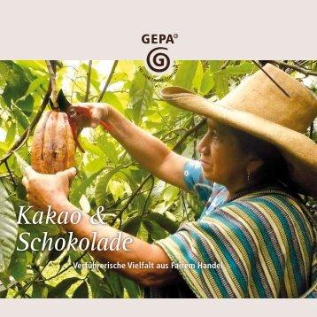 Kakao & Schokolade - Gepa