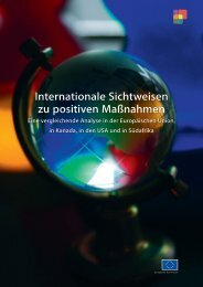 Internationale Sichtweisen zu positiven Maßnahmen - European ...