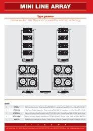 MINI LINE ARRAY - X-Treme Audio