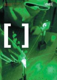 Annual report 04/05 - Dstl
