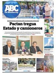 Pactan tregua Estado y camioneros - Periodicoabc.mx