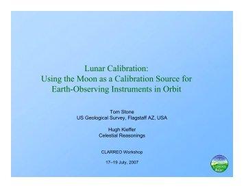 Lunar Calibration - Modeling, Analysis, and Prediction Program