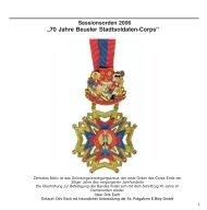 Sessionsheft Jahr 2006 - Beueler Stadtsoldaten-Corps Rot-Blau