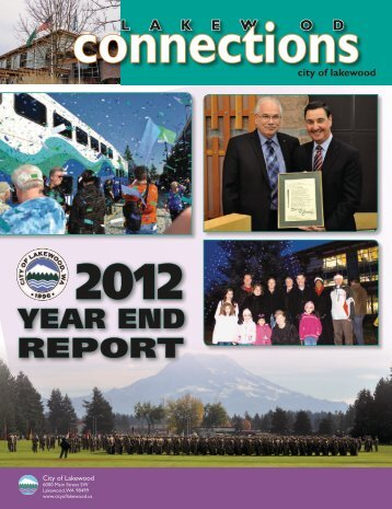 2012 Year End Report - City of Lakewood
