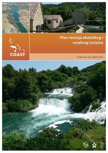 Plan razvoja ekološkog i ruralnog turizma: područje ... - UNDP Croatia