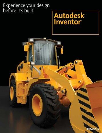 Autodesk® Inventor® - Ad-Tech Inc