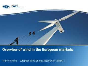Overview of wind in the European markets