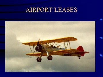 AIRPORT LEASES
