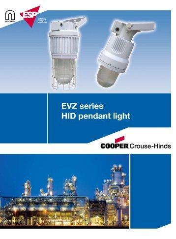 EVZ series HID pendant light