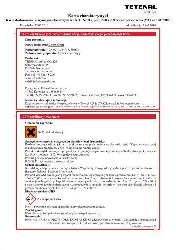 sd1261_-_Chem_Clean_ PL - Chemia Tetenal