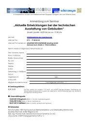 """""""Aktuelle Entwicklungen bei der technischen Ausstattung von ..."""