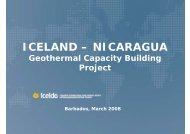 ICELAND – NICARAGUA - United Nations Sustainable Development