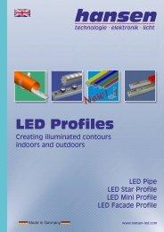 LED Profiles - Hansen