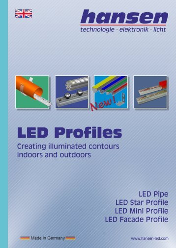 LED Profiles - Hansen