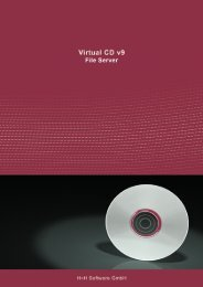 Virtual CD v9 File Server - H+H Software GmbH