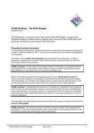 ACRE Briefing Budget March 2010.pdf - Community Council of Devon