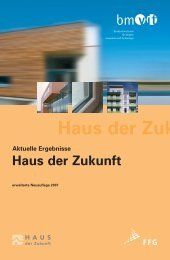 Broschüre (3.5 MB) - Haus der Zukunft
