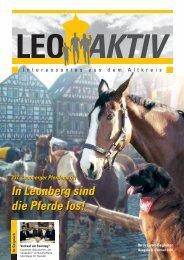 In Leonberg sind die Pferde los! - leoaktiv.de